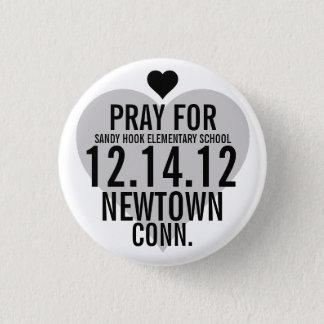 Pray For Newtown Button