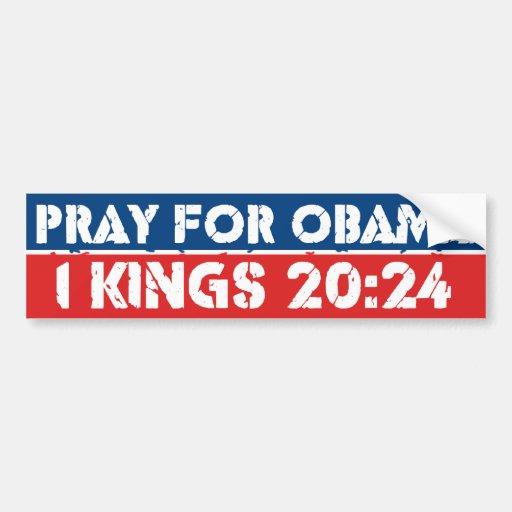 Pray for Obama Bumper Sticker