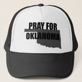 Pray For Oklahoma Disaster Support Trucker Hat