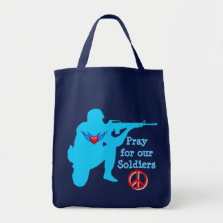 pray for our soldiers bag