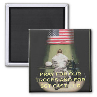 PRAY FOR OUR TROOPS AND FOR... MAGNET