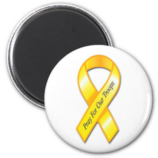 Pray for Our Troops Magnet