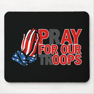 Pray for Our Troops - Pay for our 'oops' Mouse Pad