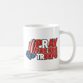 Pray for Our Troops - Pay for our 'oops' Classic White Coffee Mug