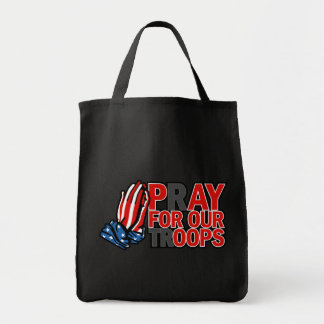 Pray for Our Troops - Pay for our 'oops' Tote Bag
