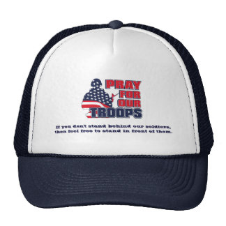 Pray For Our Troops Trucker Hat