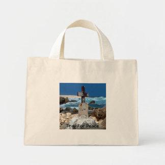 Pray For Peace Mini Tote Bag