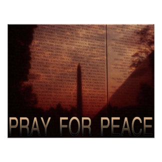 Pray For Peace Poster
