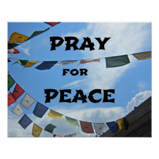 Pray for Peace Posters