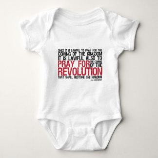 Pray for Revolution G.K. Chesterton T-shirts