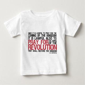 Pray for Revolution G.K. Chesterton Tshirts