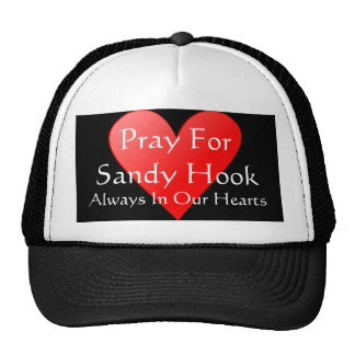 PRAY FOR SANDY HOOK ALWAYS IN OUR HEARTS TRUCKER HAT