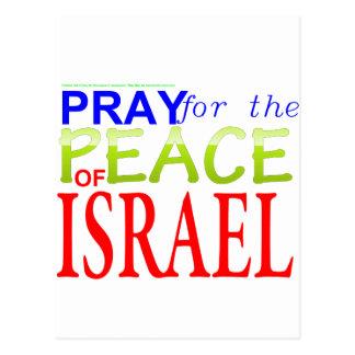 Pray for the Peace of Jerusalem, Israel Postcard