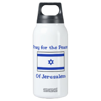 Pray for the Peace of Jerusalem Thermos Bottle