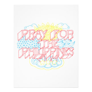 Pray for the Philippines Flyer