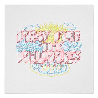 Pray for the Philippines Poster