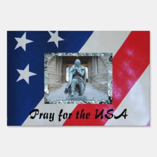 Pray for the USA Signs