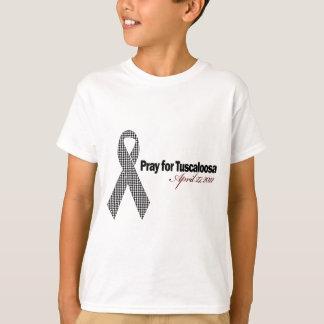 Pray For Tuscaloosa Alabama (Houndstooth) T-Shirt