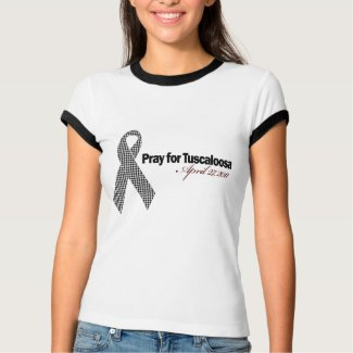 Pray For Tuscaloosa Alabama (Houndstooth) shirt