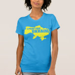 Pray For Ukraine- Women's High End T Tshirts
