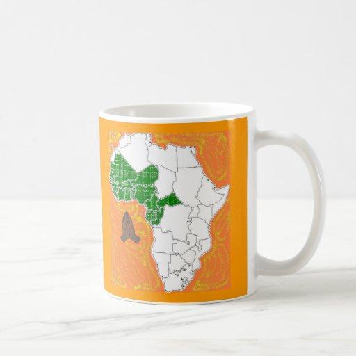 Pray for West Africa Coffee Mug