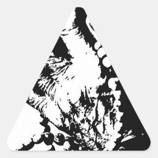 pray grime lab hands triangle sticker
