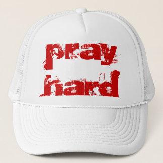 pray hard - Customized Trucker Hat