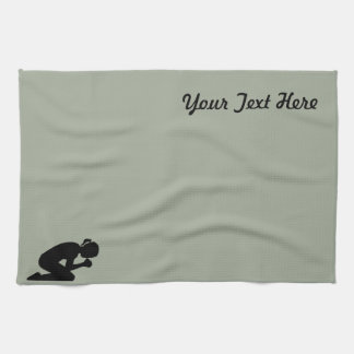 Pray Hard - There is Power in Prayer Towel