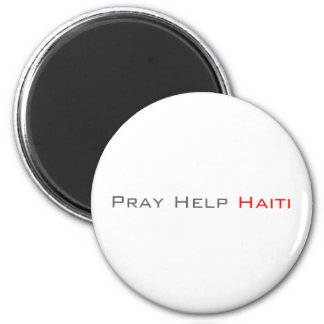 Pray Help Haiti Refrigerator Magnets