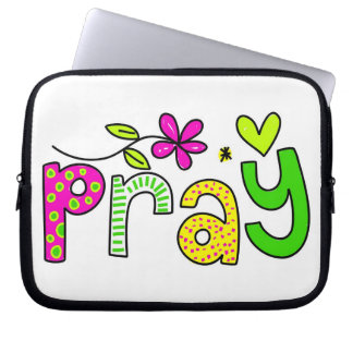 Pray Laptop Sleeve