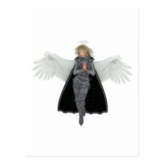 Pray Messenger Angel Postcard