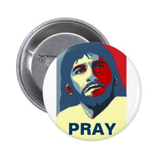 PRAY PINBACK BUTTON