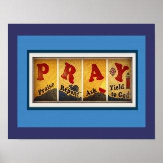 Pray Poster