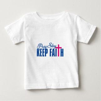 Pray, Slay & Keep Faith Baby T-Shirt