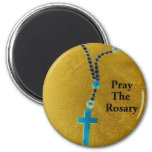 PRAY THE ROSARY FRIDGE MAGNETS