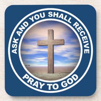 Pray To God Coaster