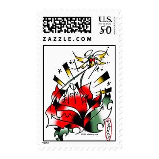 pray to Jah stamps