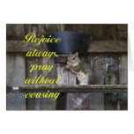 Pray Without Ceasing Greeting Card