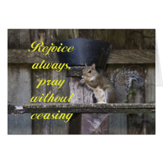 Pray Without Ceasing Greeting Cards