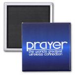 PRAYER 2 INCH SQUARE MAGNET