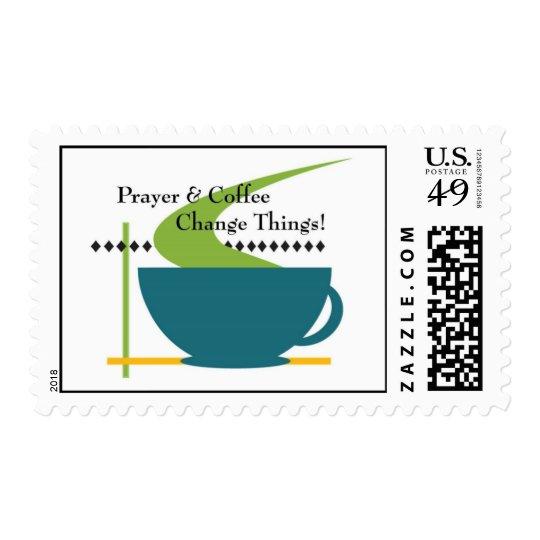 Prayer and Coffee Stamp