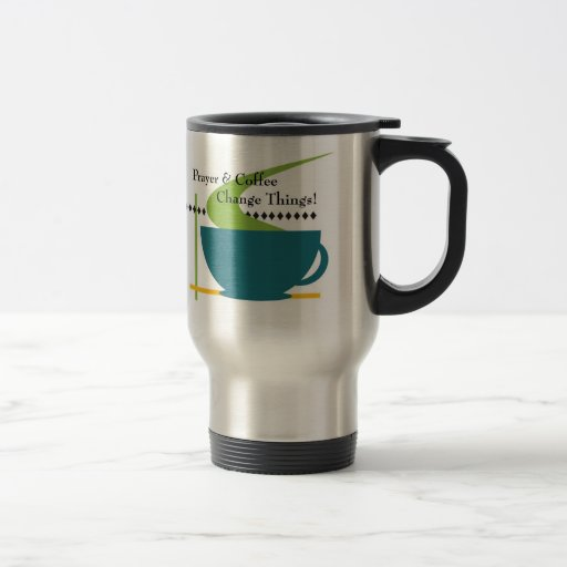 Prayer and Coffee Travel mug