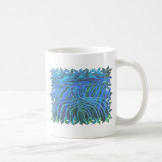 Prayer art hand angels abstract acrylic painting coffee mug