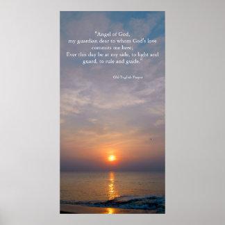 Prayer at Sunrise Poster