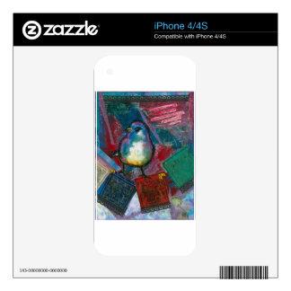 Prayer Bird Skins For iPhone 4