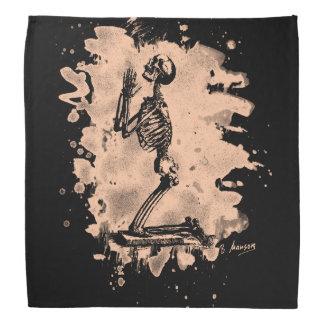 Prayer - bleached burnt bandana