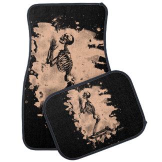 Prayer - bleached burnt car floor mat