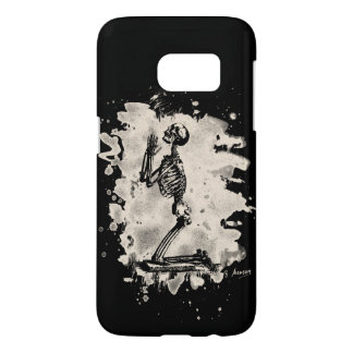 Prayer - bleached white samsung galaxy s7 case