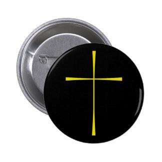 Prayer Book Cross Gold Buttons