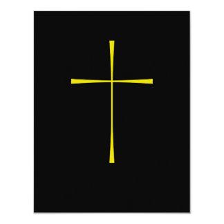Prayer Book Cross Gold Card